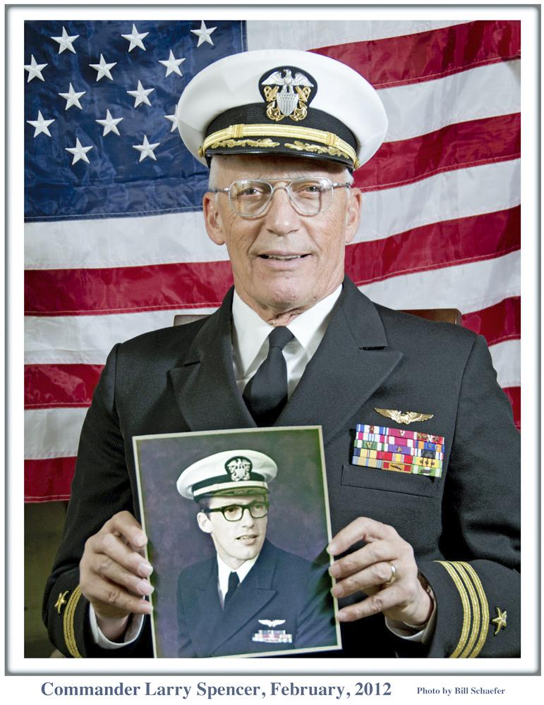 "Former POW Larry Spencer was named a ""Notable Iowa Veteran"" in 2012."