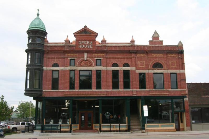 The Warren Opera House in Greenfield, IA.