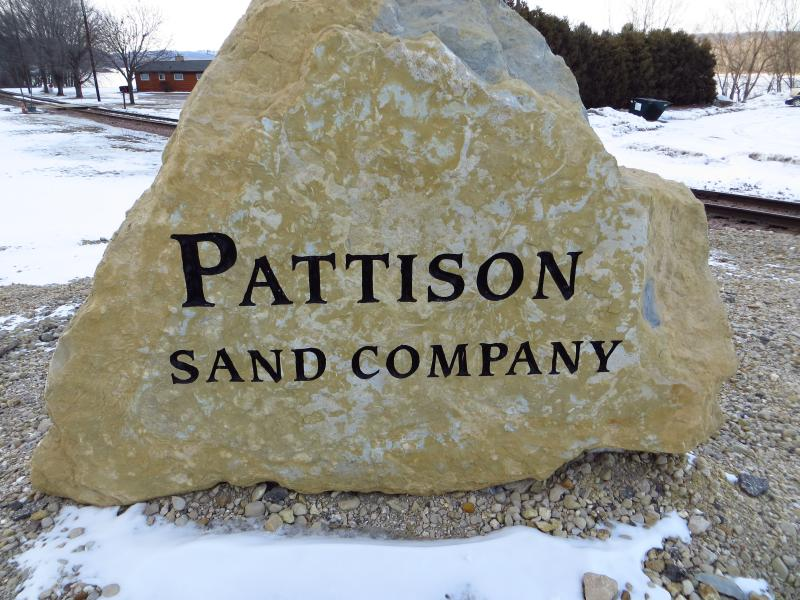 About 90 percent of the sand mined at Pattison Sand Company in Clayton County, Iowa, is used for hydraulic fracturing in other states.