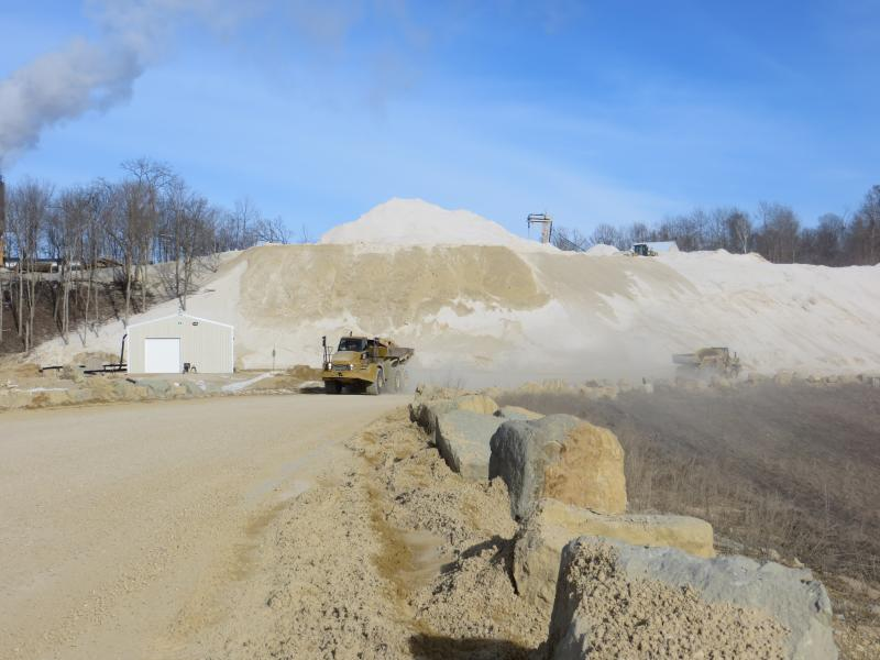 Pattison Sand Company in Clayton County is the only known place in Iowa where silica sand is being mined for fracking.