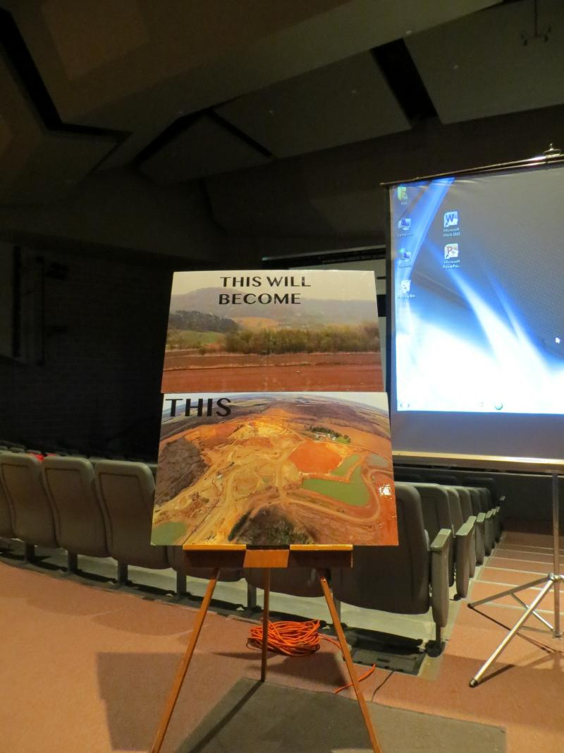 At a recent public meeting in Decorah, organizers described what they see as the dangers of expanded mining for frac sand in northeast Iowa.