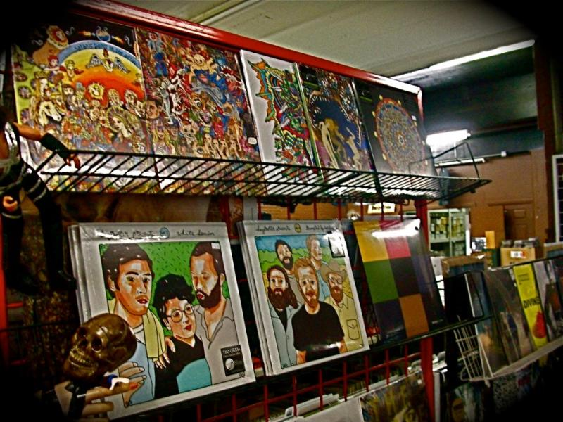 Daytrotter albums at Ragged Records, in Davenport