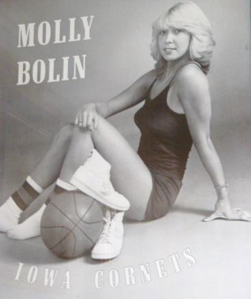"The pin-up poster of ""Machine Gun"" Molly Bolin."