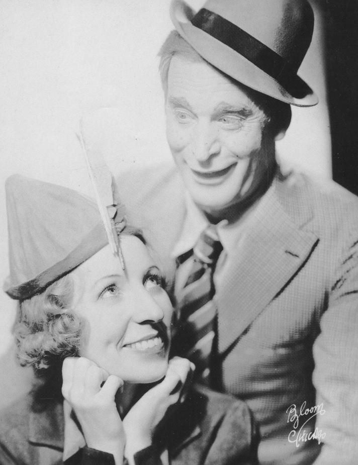 Caroline and Neil Schaffner in a publicity photo for Peter Pan Bakeries.
