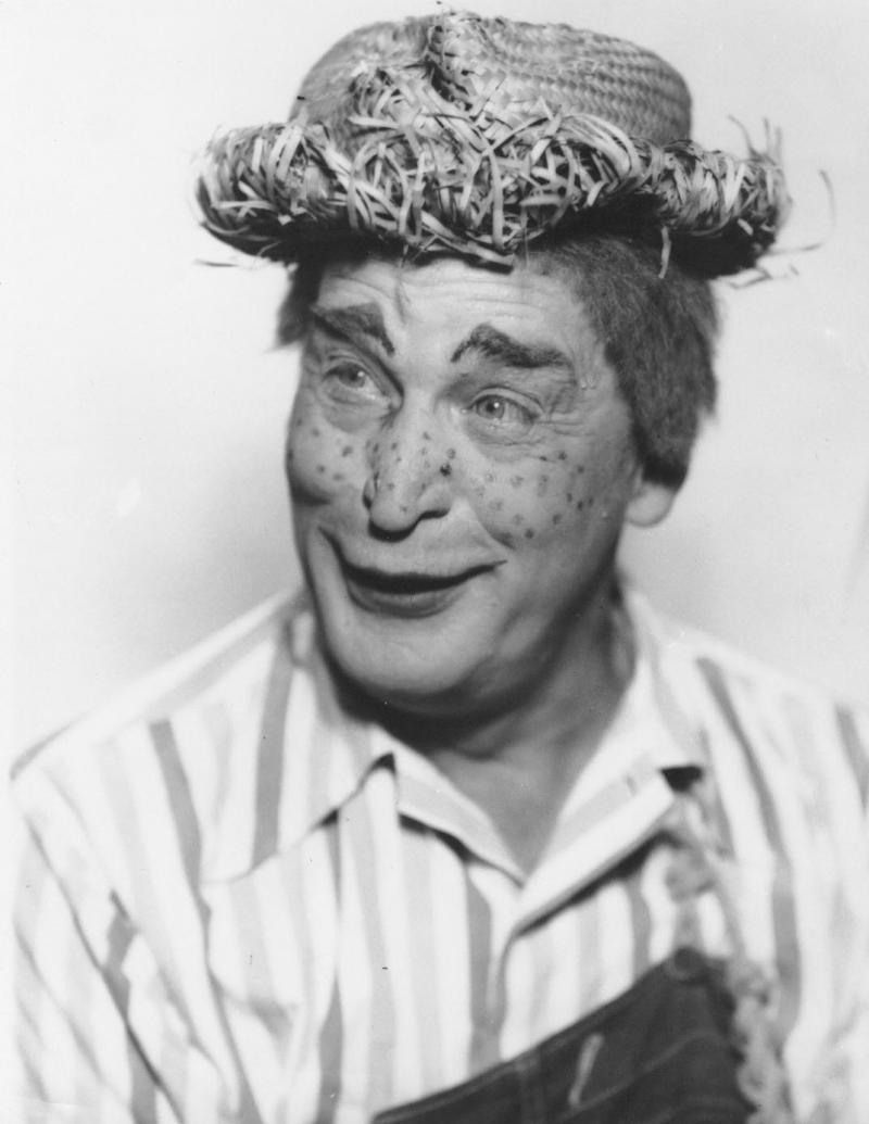 "Neil Schaffner as the character ""Toby,"" 1952."