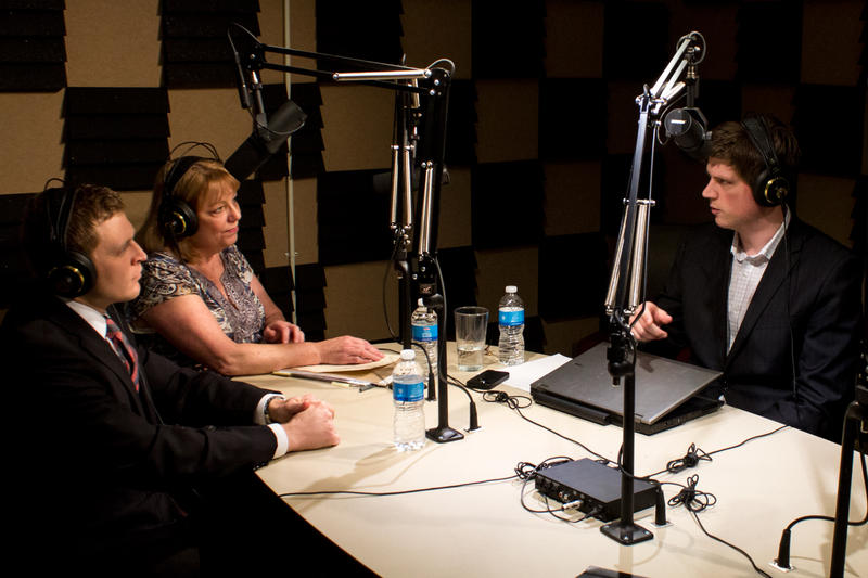 "Governor Branstad's Healthcare policy aide Michael Bousselot, Senator Pam Jochum (D-Dubuque) and IPR Statehouse Correspondent Clay Masters on ""River to River"" from IPR's Des Moines studios."
