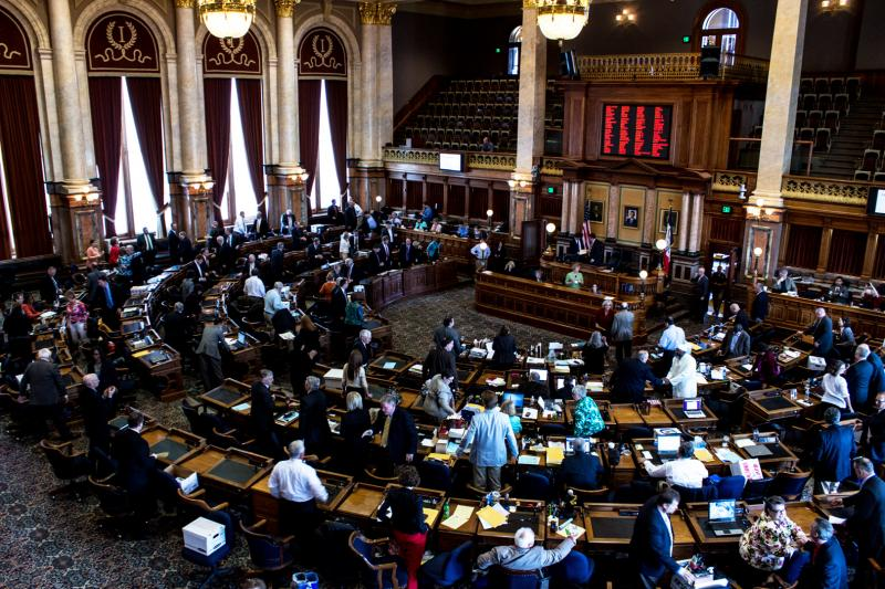 Shortly after 11am the Iowa House of Representative adjourns on May 23rd, ending the 2013 legislative session.
