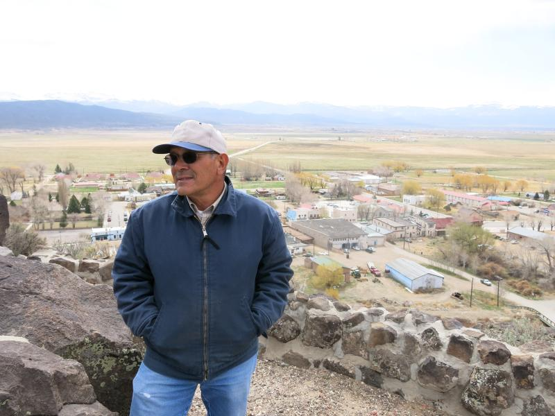 Eugene Jacquez's family has grown beans and raised sheep at the base of the Culebra peaks in San Luis, Colo., for generations. He belongs to the Rio Culebra Cooperative and says without federal funding, many of his neighbors may not sell to the co-op.