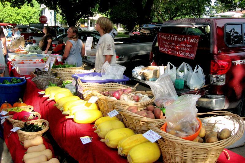 Farmers' Market in Cedar Falls.