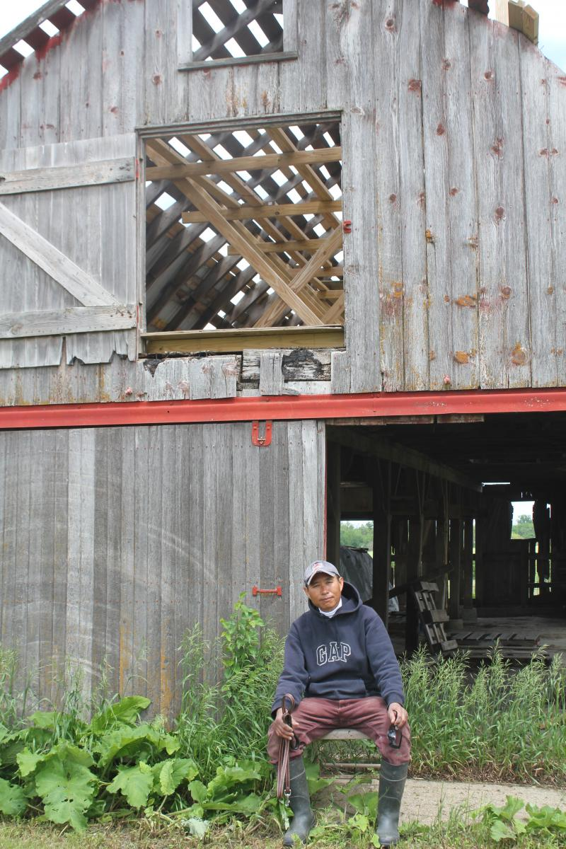 Air Philavanh bought an 11-acre farm in Milo, Iowa after living in the Midwest for about 30 years. He came to this country as a refugee from Laos in his early 20s.