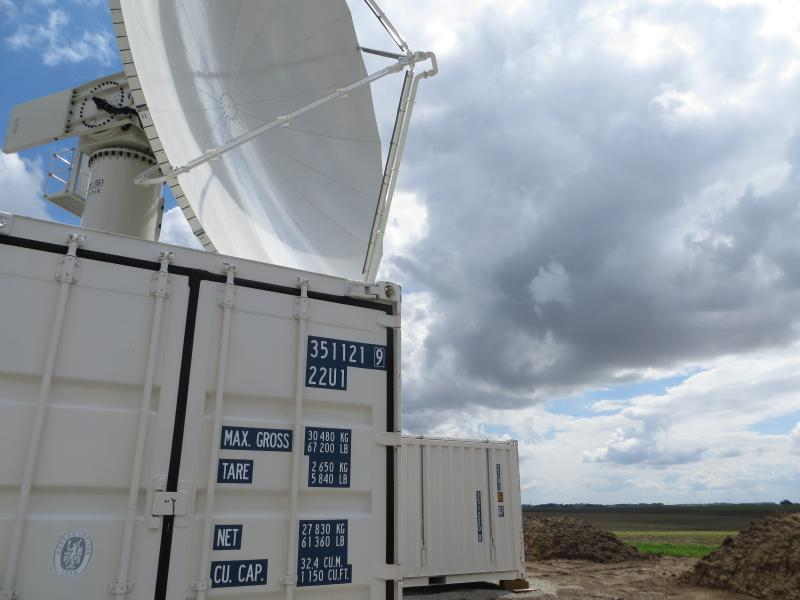 In rural Traer, NASA uses two radars and a network of river gauges from the Iowa Flood Center to test new forecasting technology.