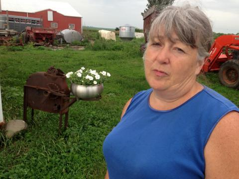 After joining a food hub, Donna O'Shaughnessy was able to quit her job as a nurse to work full-time on her farm.