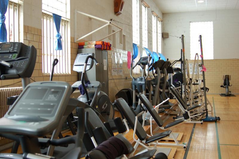 Mitchellville's indoor gym