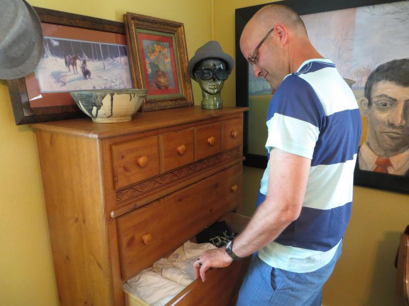 Isidro left suddenly; his clothes are still in the drawers in the home he and Brian shared for seven years.