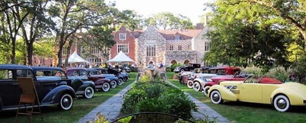 Some of the classic cars on display at the Salisbury Concours d'Elegance