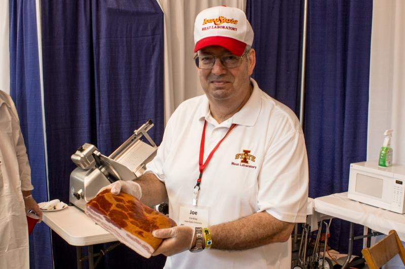 Iowa State University meat extension specialist says Joe Cordray bacon has become popular in recent years because it is used more as a condiment than a breakfast food. Also bacon now comes in more flavors and seasoning increasing its versatility.
