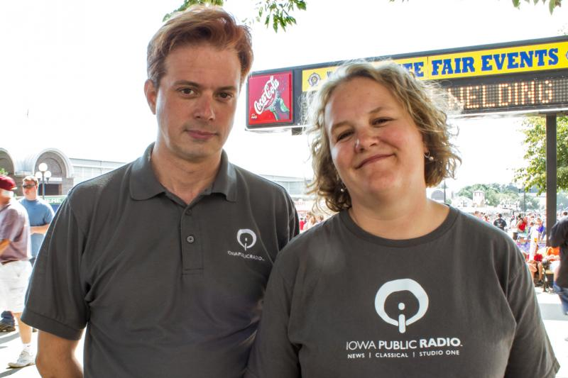 Every August John Pemble and Katherine Perkins report stories for Iowa Public Radio that explore Iowa's culture represented at the Iowa State Fair.