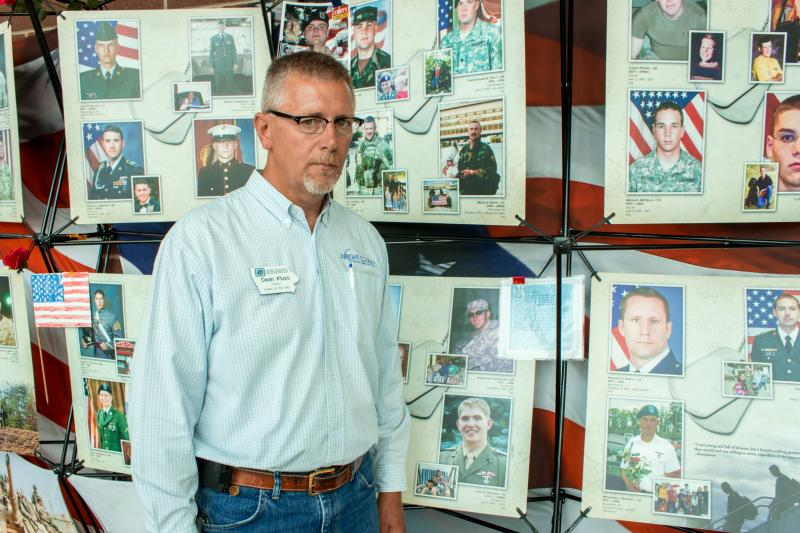 "The Iowa State Fair chose Dean Kluss as one of the Iowans of the Day. Kluss, a retired Navy veteran, visited ""Remembering our Fallen"" and says when an Iowa soldier gives their life in the line of duty for their country should be the Iowan of the Day."
