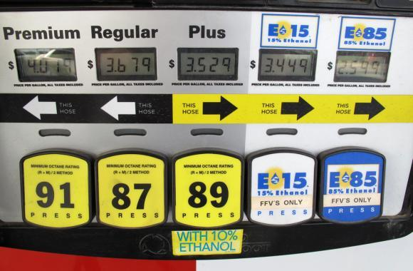 At many gas stations in Nebraska and across the Midwest, E85 is the cheapest fuel available. However, only a fraction of cars on the road can use it, and on E85 they get fewer miles to the gallon.