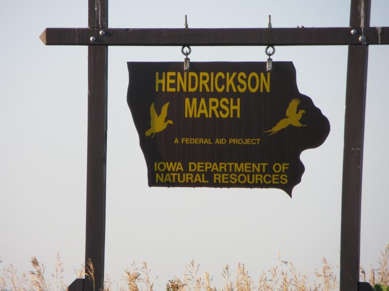 Hendrickson Marsh is one of 208 sites in Iowa where the DNR's annual roadside survey is conducted