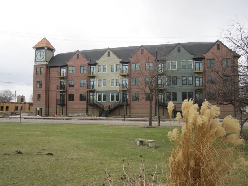 Hatch Development Group's Oak Hill Jackson Brickstones in Cedar Rapids.