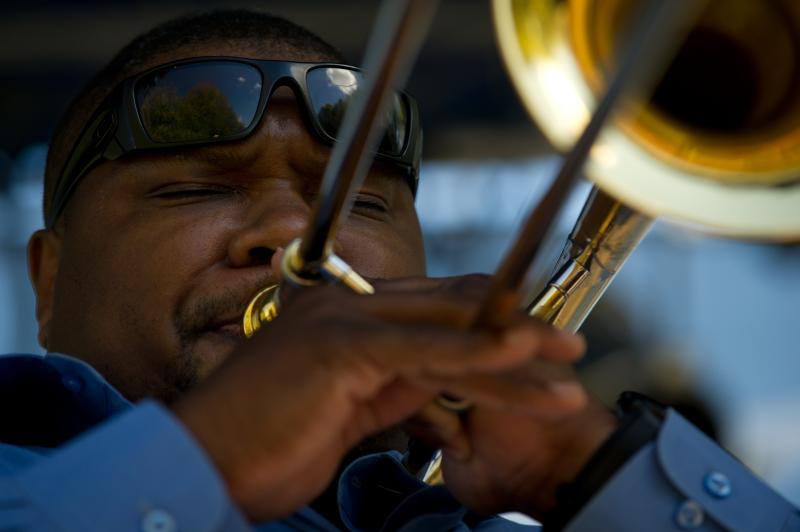 Trombonist Wycliffe Gordon performs with his quintet. Gordon is one of the many top notch performers on the 2013-14 Hancher events calendar this year.