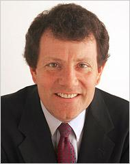 Nicholas Kristof, a New York Times columnist, will visit Iowa Monday.