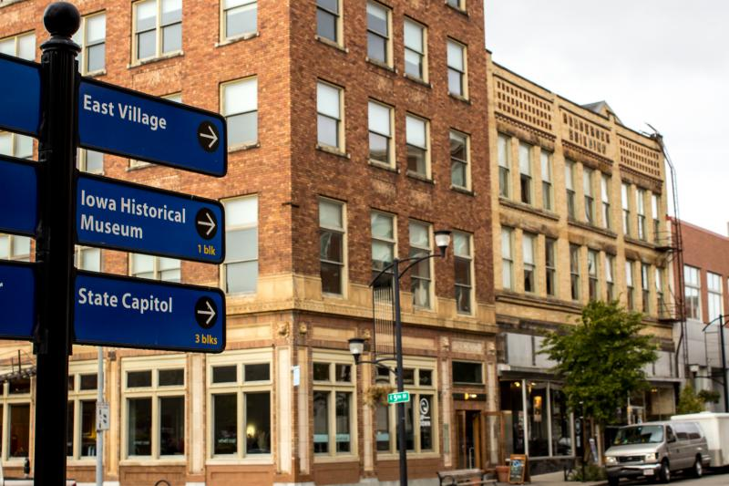 Downtown Des Moines's residential vacancy rate is at an 18-year low of less than 3 percent. The area has seen a renaissance in the last 15 years thanks to community investments in the arts and culture.