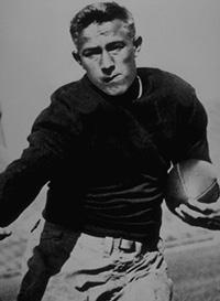 In 1935 Jay Berwanger because the first Heisman Trophy winner.  He attended the University of Chicago on an athletic scholarship which gave him $300 a year to cover the basic costs of tuition.