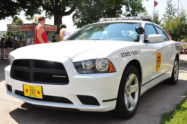 Iowa State Patrol's Dodge Charger