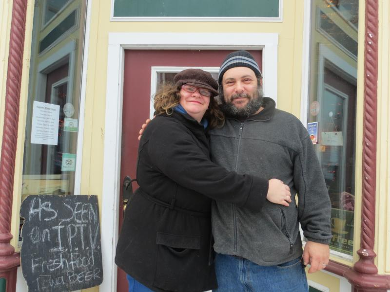 Jeri and Ben Halperin of Augusta Restaurant, in Oxford.