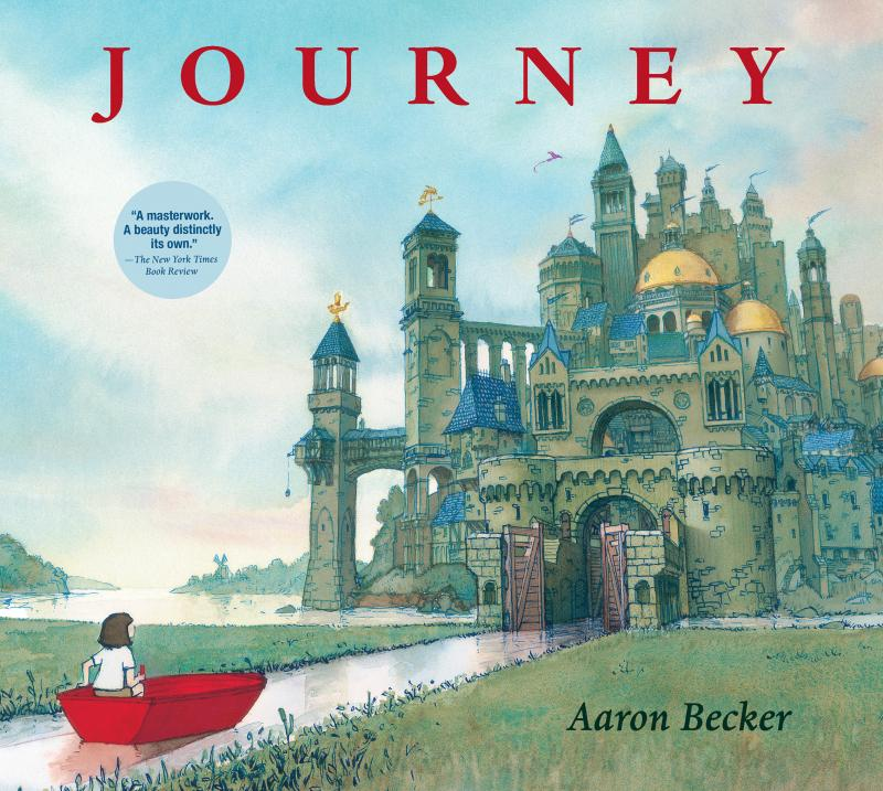 """A wordless book that has a serenity and dreaminess to it that I think would be lovely to share."" - Sue Davis"