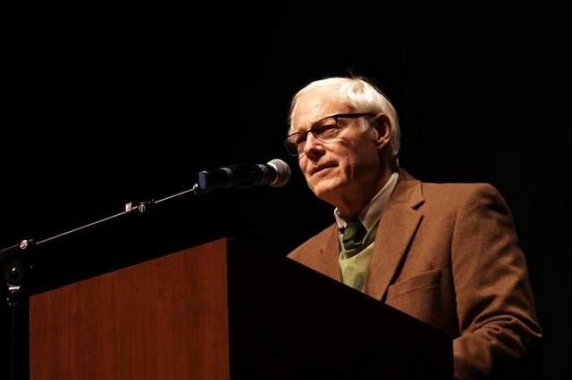 Jim Leach speaking in Coralville November 11, 2013