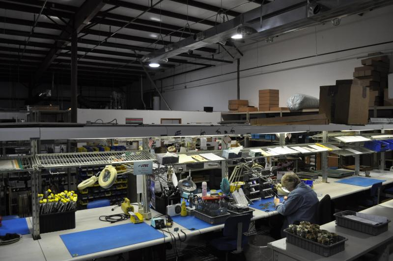 To save on rent costs, J-Tec scaled back their production space by 3,000 square feet.