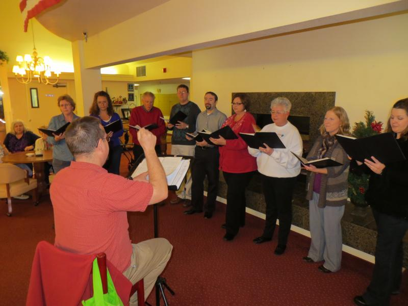 The Principal Singers at Illahee Hills Retirement Center