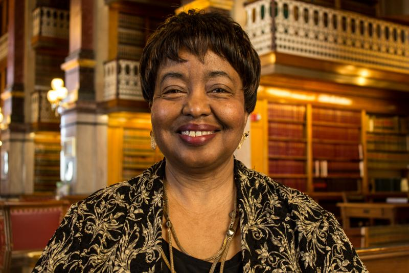 Representative Ruth Ann Gaines, Democrat from Des Moines