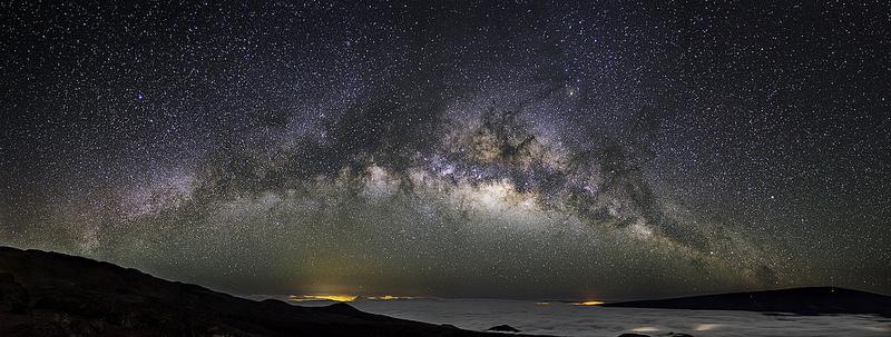 Photo of the Milky Way seen from Earth