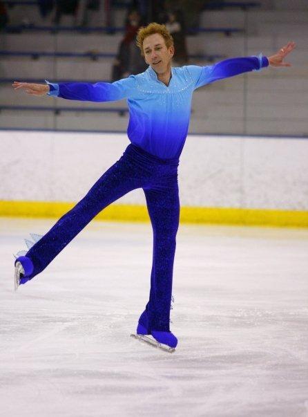 Figure skater Burton Powley