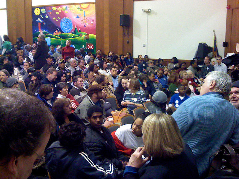 A caucus at Washington Elementary in Davenport, Iowa 2008