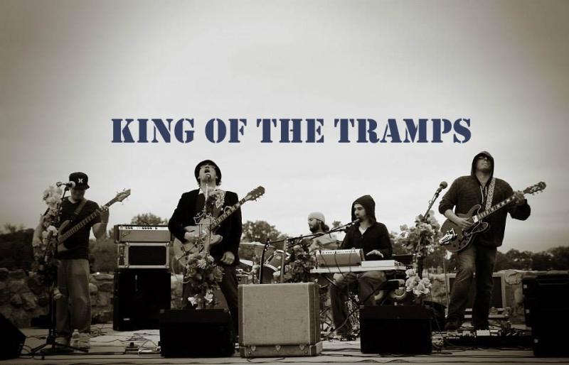 Stop by The Java House to catch the gospel sounds of King of the Tramps.