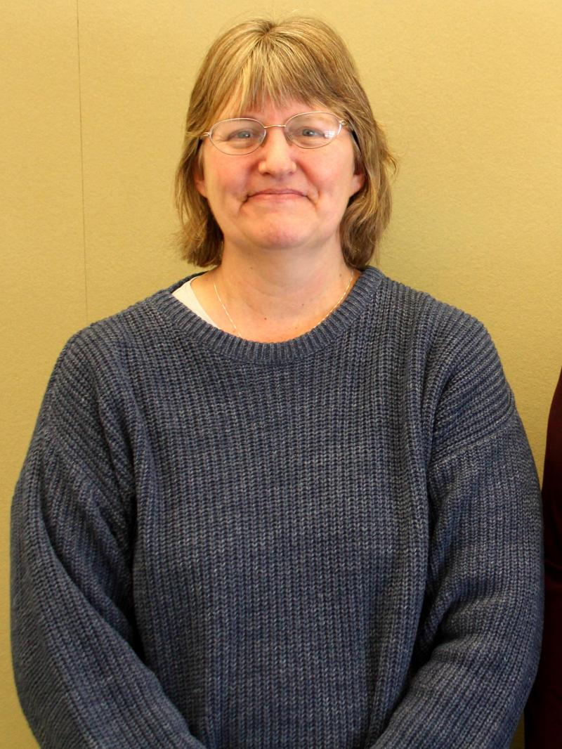 Sabrina Swenson, of the USDA's National Veterinary Services Laboratory in Ames, took the initial call about porcine epidemic diarrhea virus last May.