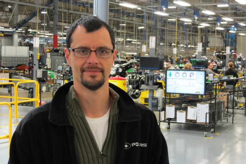 Cory Knudtson is Director of Operations for Polaris Industries-Spirit Lake.