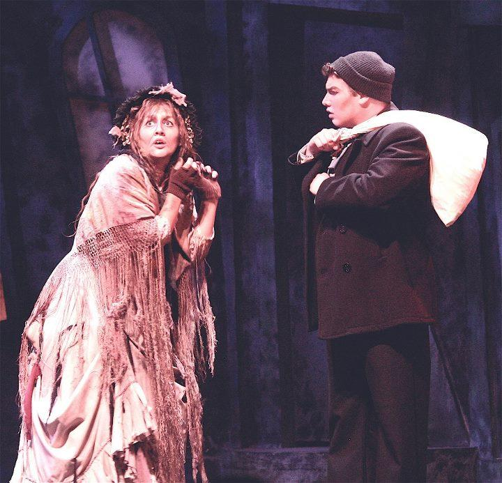 "Tenor Eric Ferring as Anthony in the Seagle Music Colony's 2012 production of ""Sweeney Todd."""