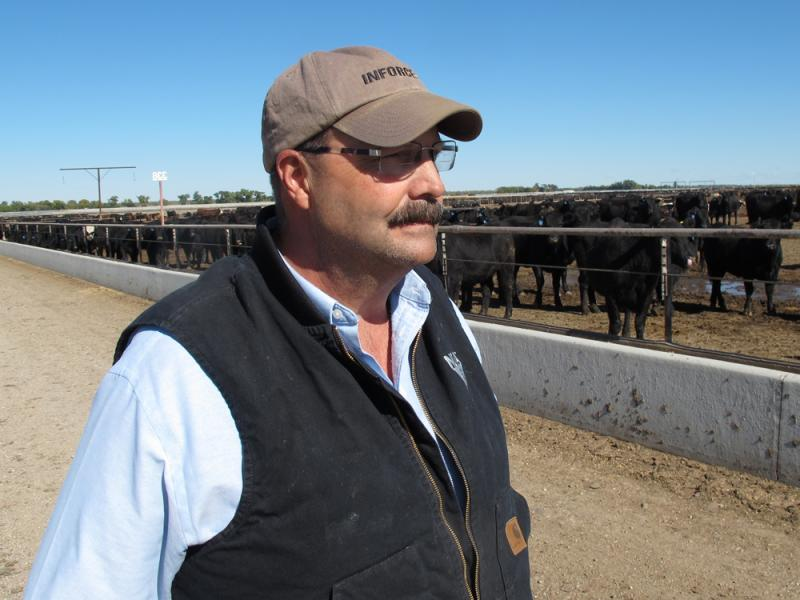 It's not just consumers who are paying more for beef. Craig Uden says recent prices to buy calves from ranchers for his feedlot are among the highest he's ever seen.
