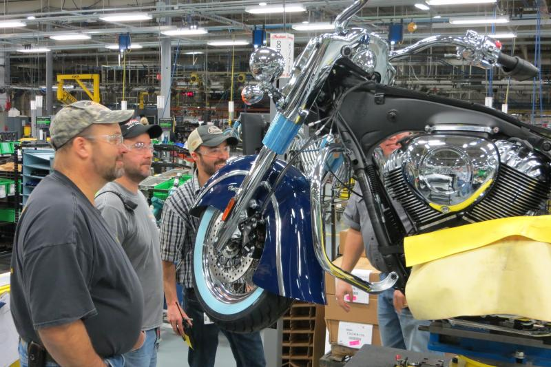 Polaris Industries has 800 northwest Iowa Workers.
