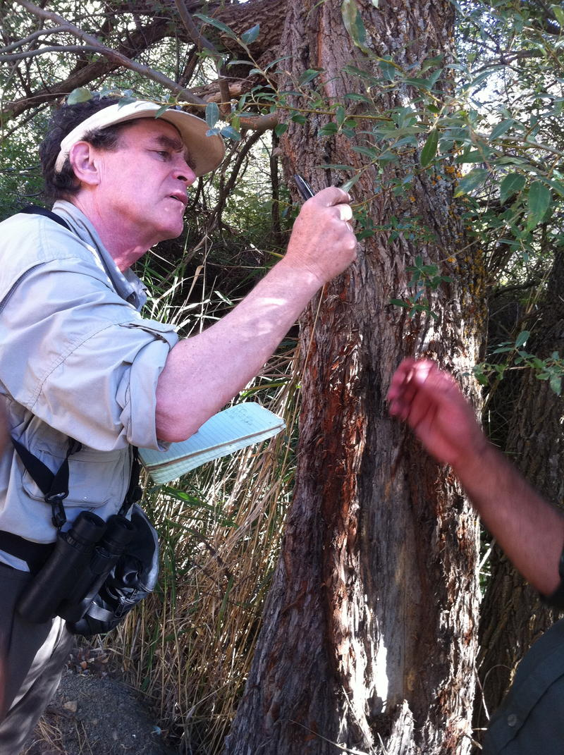 Alan Weisman at Golestan National Park