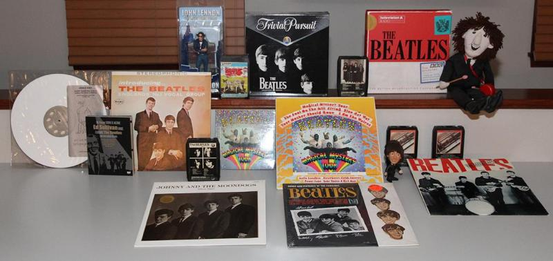 Bob Dorr's collection of Beatles memorabilia