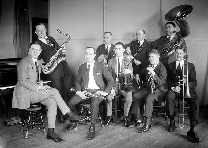 The Isham Jones Orchestra, early/mid 1920s