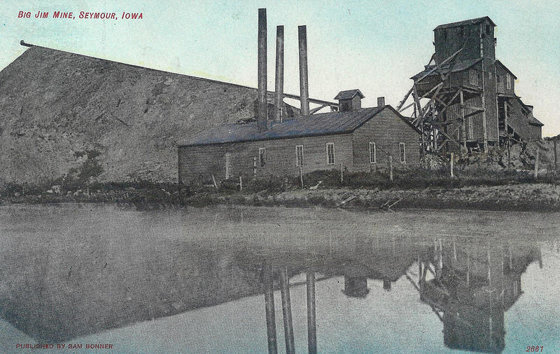 Seymour Iowa, Big Jim Coal Mine, May 23, 1957