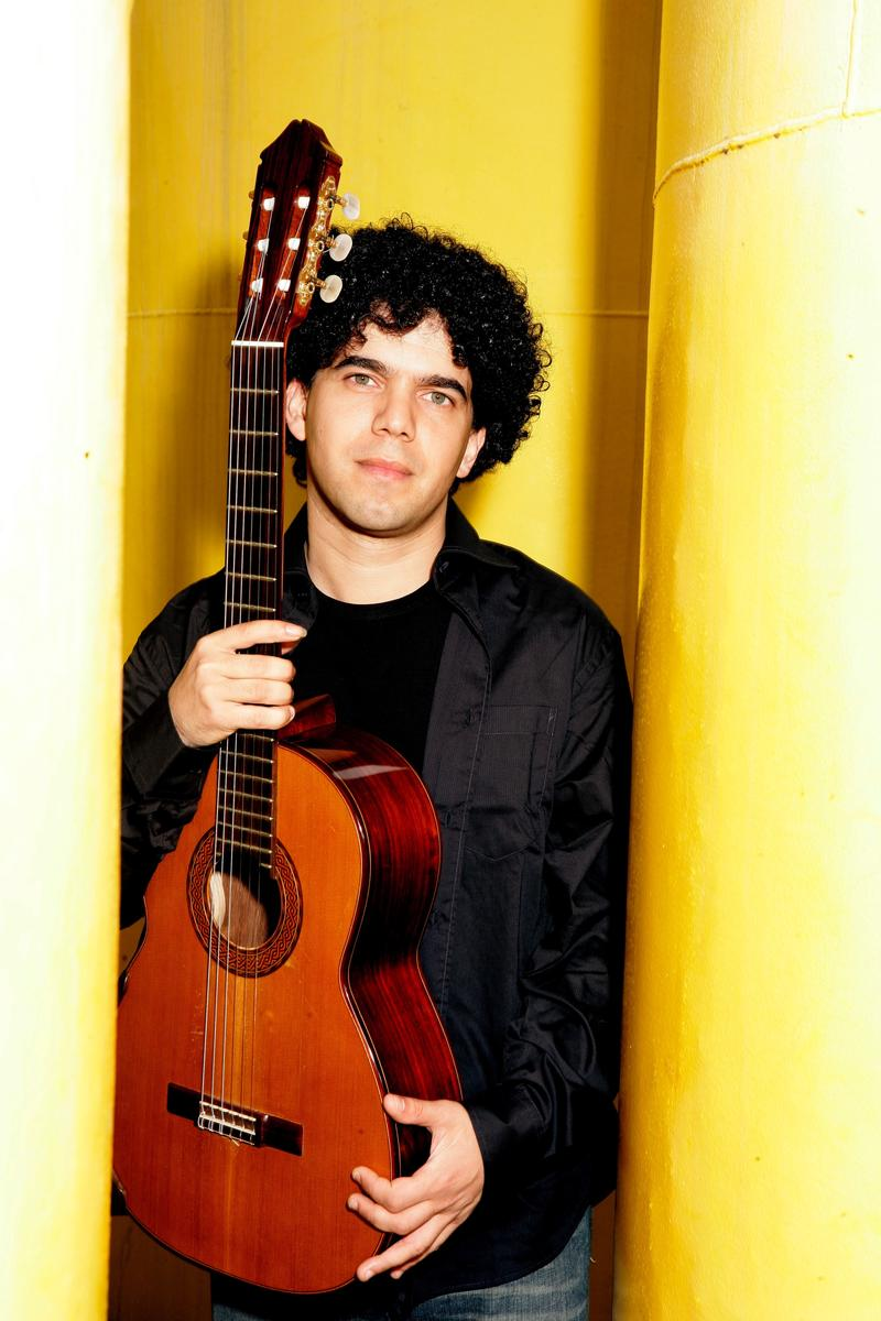 Judicaël Perroy, Parisian classical guitarist, performs in Des Moines this month.